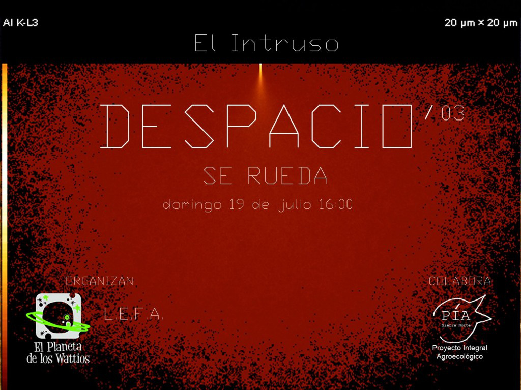 Despacio Se rueda
