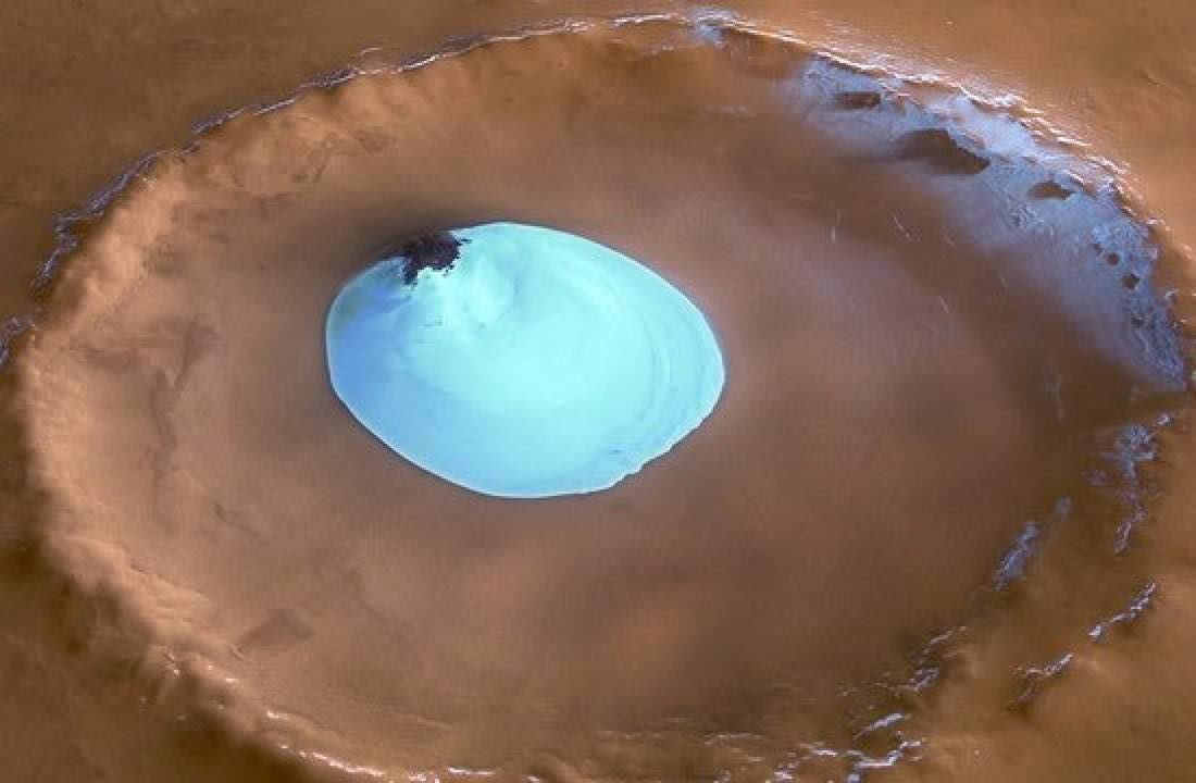 Lake of Ice water-video